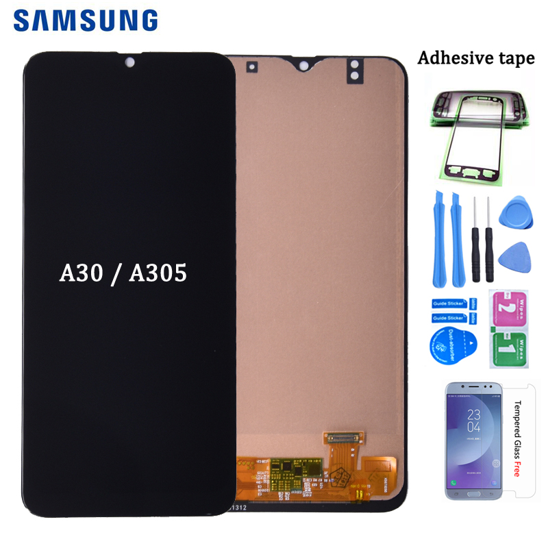 For <font><b>SAMSUNG</b></font> GALAXY <font><b>A30</b></font> <font><b>LCD</b></font> Display A305DS A305FN A305G A305GN A305YN with Touch <font><b>Screen</b></font> Digitizer Assembly free shipping image