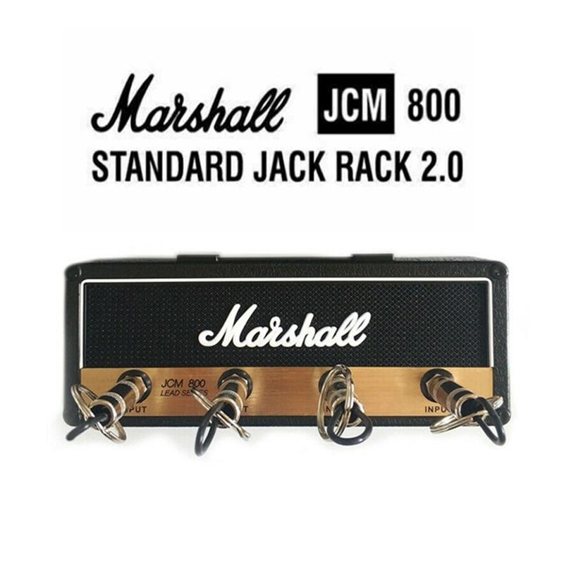 Key Hanger Amp Vintage Guitar Amplifier Key Holder Jack Rack 2.0 Marshall JCM800 Marshall Key Wall Holder Guitar Home Decoration