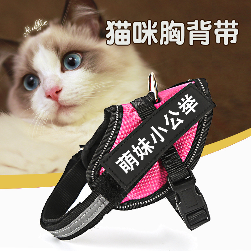 Hot Selling Cat Chest Suspender Strap Small Dog Rabbit Cat Top Grade Hand Holding Rope Suspender Strap