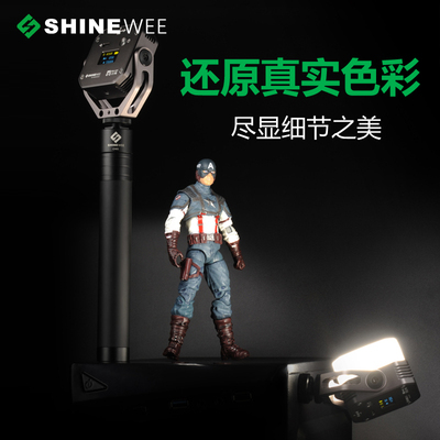 metal SL-60 Ultra Mini LED Video Light Bi-Color Fill Light on DSLR Camera LED Photo studio Lighting for DV YouTube OLED Display 1