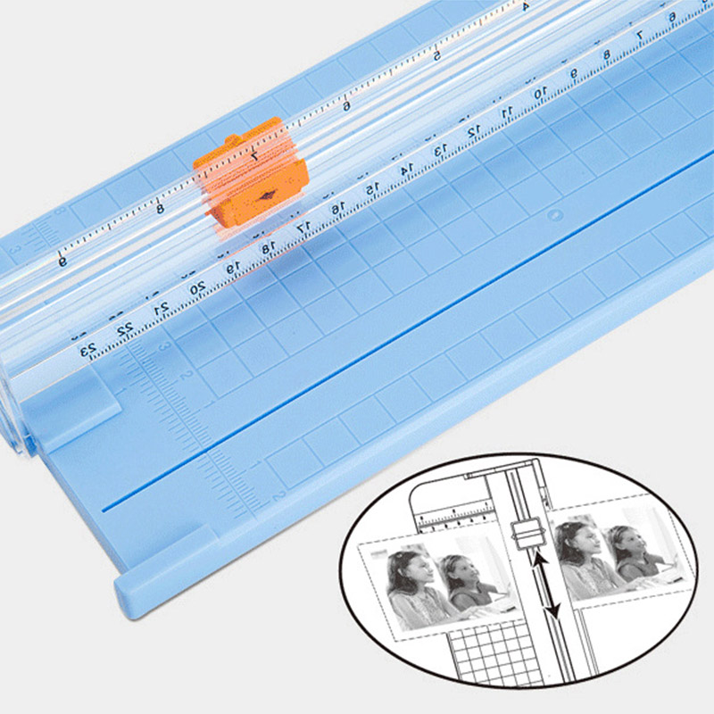 Paper Cutter Replacement Blades With Automatic Security Safeguard For A4 Paper Trimmer AS99