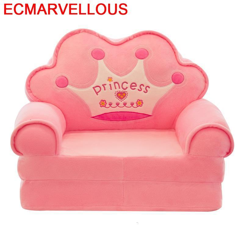 Lazy Boy Canape Kids Chair Silla Princesa Recamara Kindersofa Children Chambre Enfant Dormitorio Infantil Children's Sofa