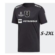 20-21 Camiseta de U de Chile homenaje al Tanque Campos Universidad de Chile tercera jerseys negro personalizar Montillo
