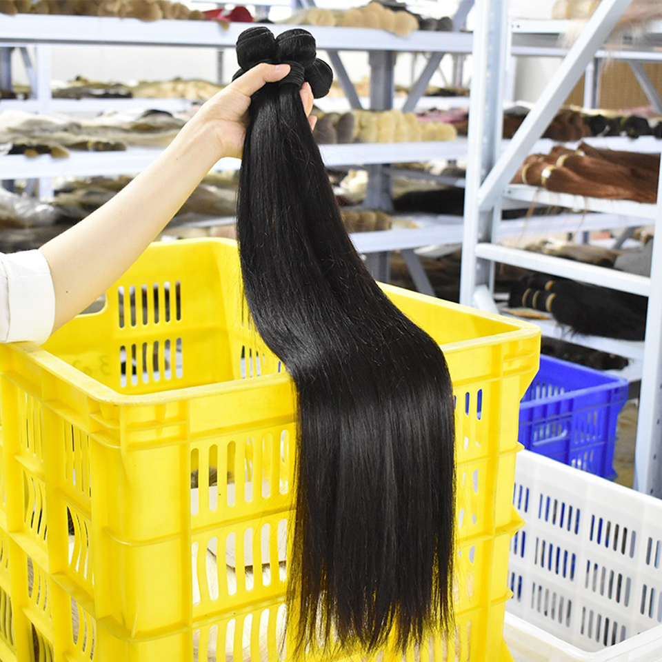 Levita 100% feixes de cabelo humano atacado