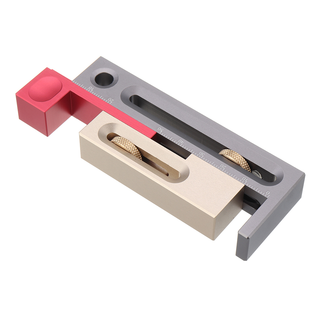 Woodworking Tables Measuring Blocks Tables Saw Slot Adjuster Mortise And Tenon Tool QP2