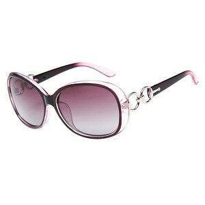 Image 3 - FENCHI Weiß Neue Polarisierte Sonnenbrille Frauen Zonnebril Dames Schwarz Sonnenbrille Nacht Weibliche Fahren gafas oculos de sol masculino