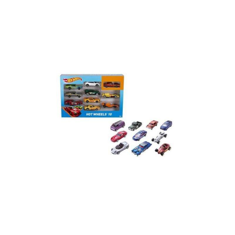 Car Hot Wheels Pack 10 PCs Toy Store Articles Created Handbook