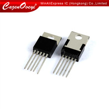 5 pçs/lote LM2577T-ADJ LM2577T LM2577 TO-220-line regulador de comutação de tensão ajustável novo original Em estoque