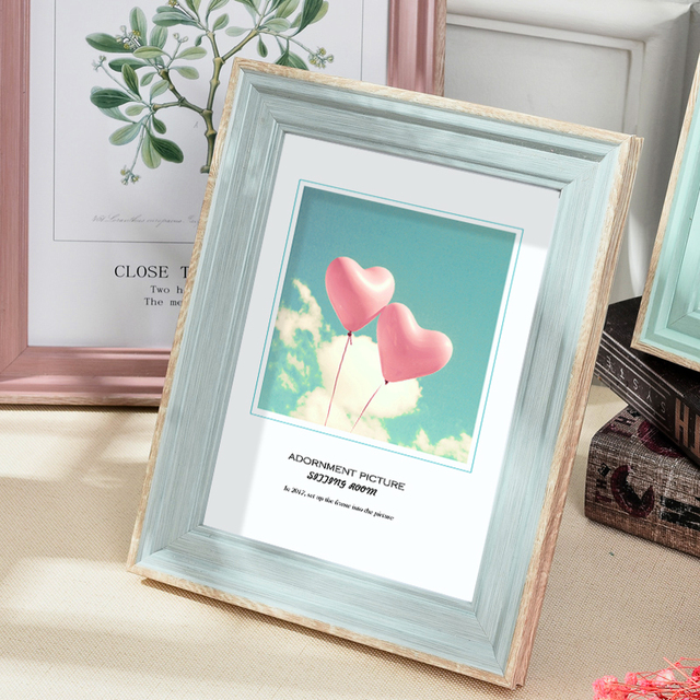 Beautiful Nordic Picture Frame Color: G Size: 5 inch