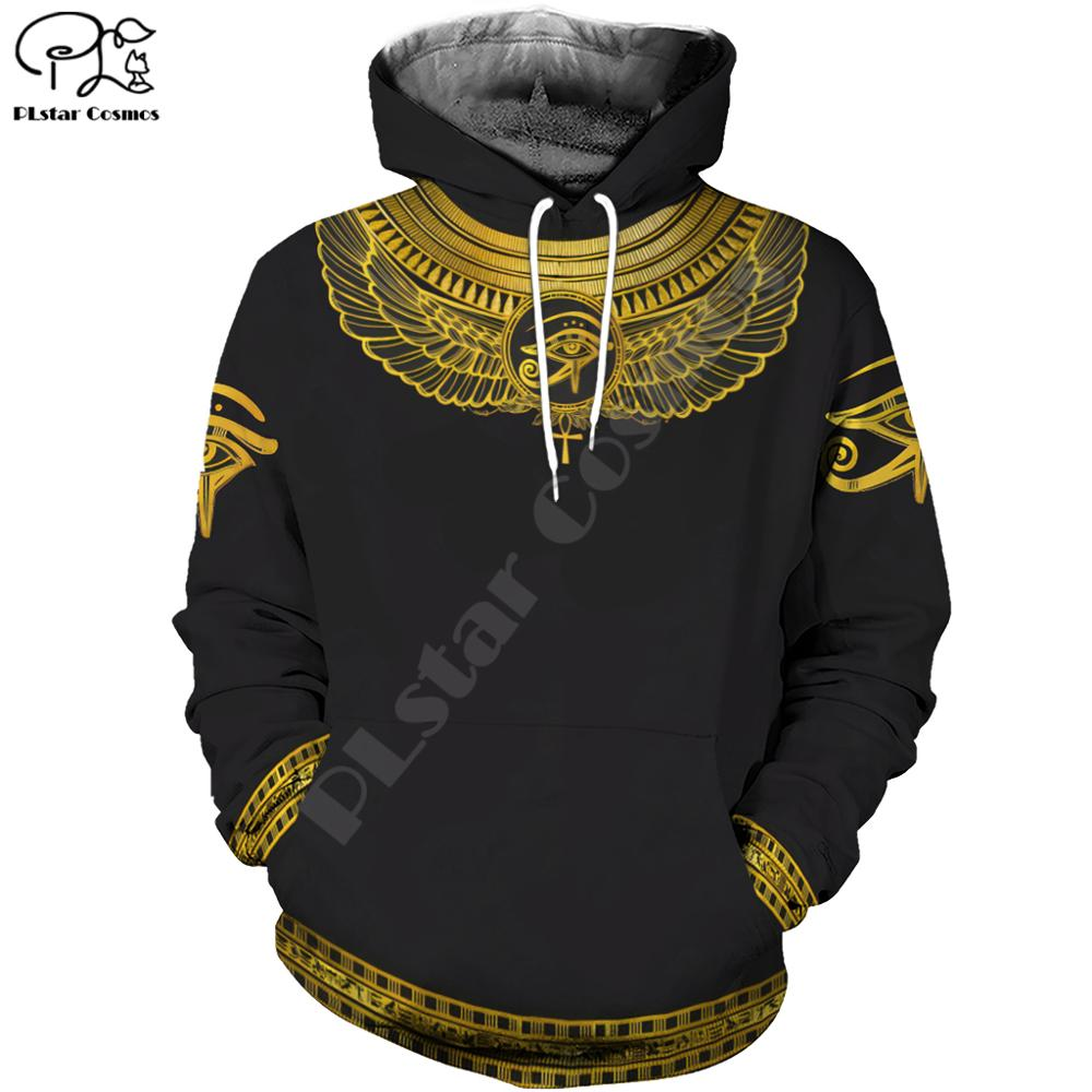 PLstar Cosmos Horus Egyptian God Eye Of Egypt Pharaoh Art Tracksuit Casual 3DPrint Hoodie/Sweatshirt/Jacket/Men Women S-2