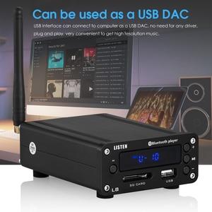 Image 4 - Nobsound HiFi Bluetooth 5.0 דיגיטלי מגבר סטריאו מקלט שולחן העבודה אוזניות Amp SD / USB מוסיקה נגן FM רדיו