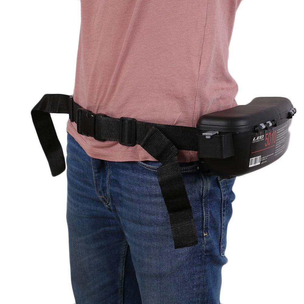 2019 Fly Fishing Bag Portable Waterproof Lures Case Box Fishing Belt Hangers Waist Hooks Sport Camping Bag Tackle Lure Reel Box