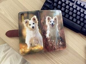 Image 4 - Wykonane na zamówienie dowolny obraz pic zdjęcie DIY portfel skórzany futerał na telefon odwróć pokrywa dla Apple iPhone X 8Plus 8 7Plus 7 6splus 6s 6Plus 6