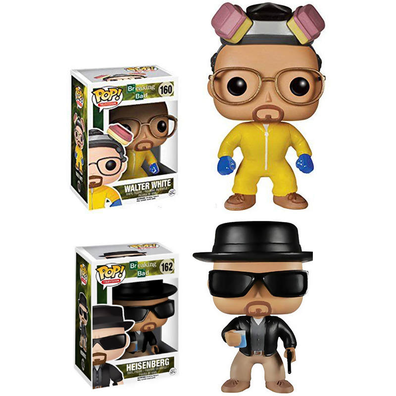 Funko POP BreakingBad HEISENBERG Saul Goodman Action Figure Vinyl Dolls Collection Model Toys For Birthday Gift