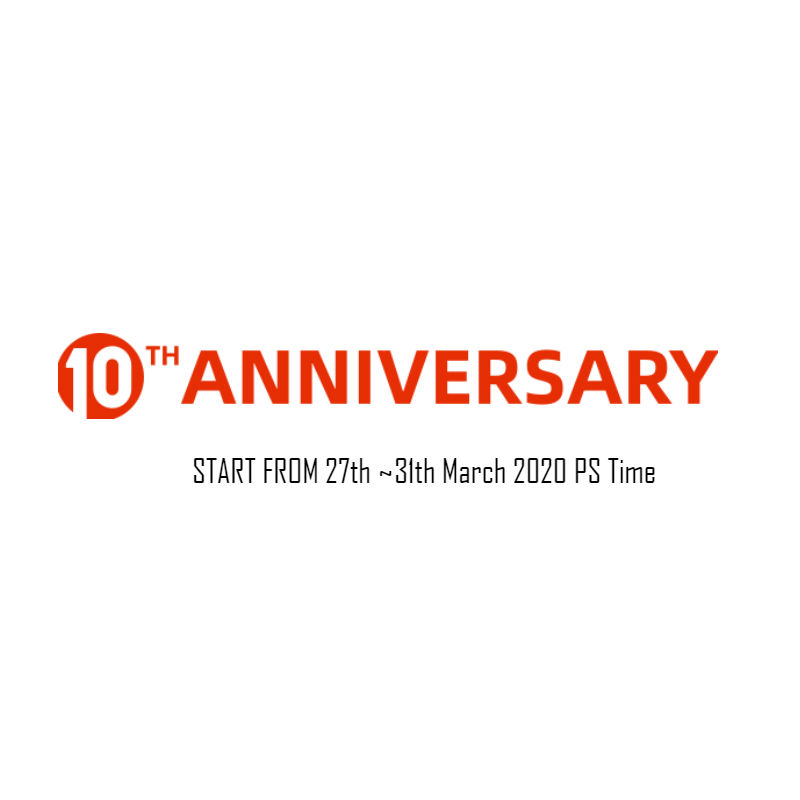 10th Anniversary Sale TWS Earbuds image