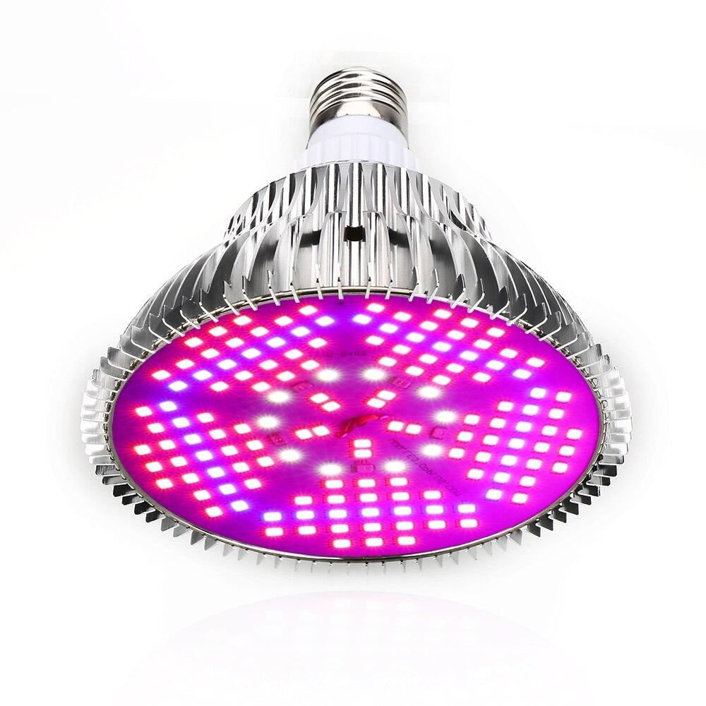 100W Full Spectrum LED Grow Light Indoor Plant Growing Lamp For Flowers Seeds Aquarium Grow Box E27 LED Grow Light