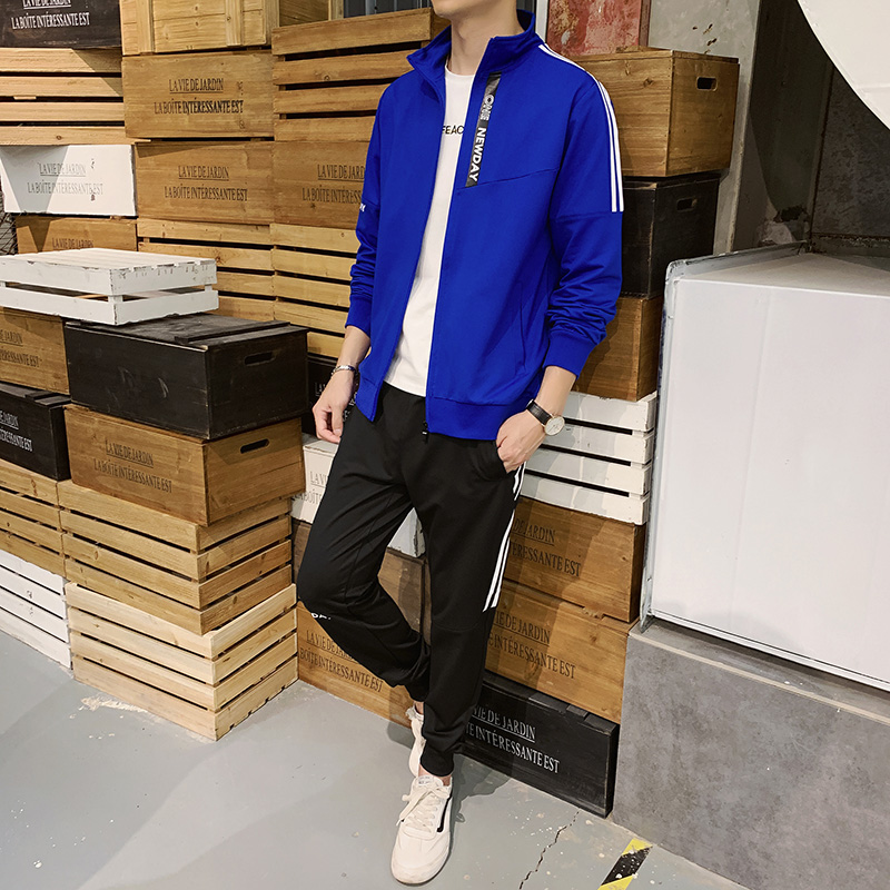 Men's Sportswear Casual Two-piece Sweatsuits For Men Track Suits Weat Shirt Homme MansClothing Fashionable Chandal Hombre Jacket