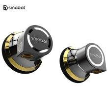 Smabat M2 Pro 15.4mm dinamik sürücü kulak HIFI MMCX kulaklık Metal kablolu kulaklıklar müzik kulaklıkları ayrılabilir kablo