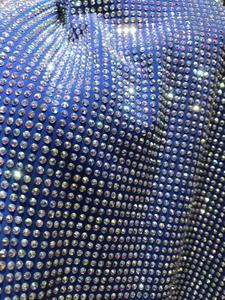 Image 2 - Heavy rhinestones French Tulle Lace Latest JIANXI.C 388809 Embroidered Net Lace Luxury rhinstones Lace Fabric