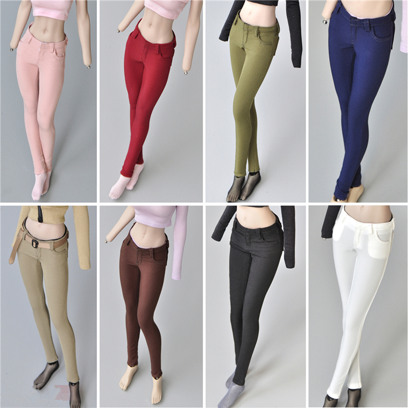1/6 Scale Female Trousers Sexy Pretty Slim Pencil Pants Accessories Clothes for 12 Inches Soldiers Model Action Figure Toys DIY image
