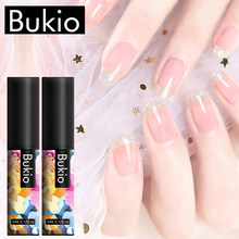 Bukio Glitter Rainbow Warna Murni Gel Nail Polish Set UV Semi Permanen Manikur 60 + Warna Rendam Off Hybrid Gel pernis Kuku Seni(China)