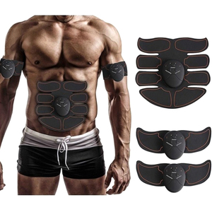 EMS entrenador de músculos brazo quema grasa de abdomen ejercitador eléctrico entrenamiento de músculos gimnasio inteligente Fitness herramienta de estimulador de músculos abdominales