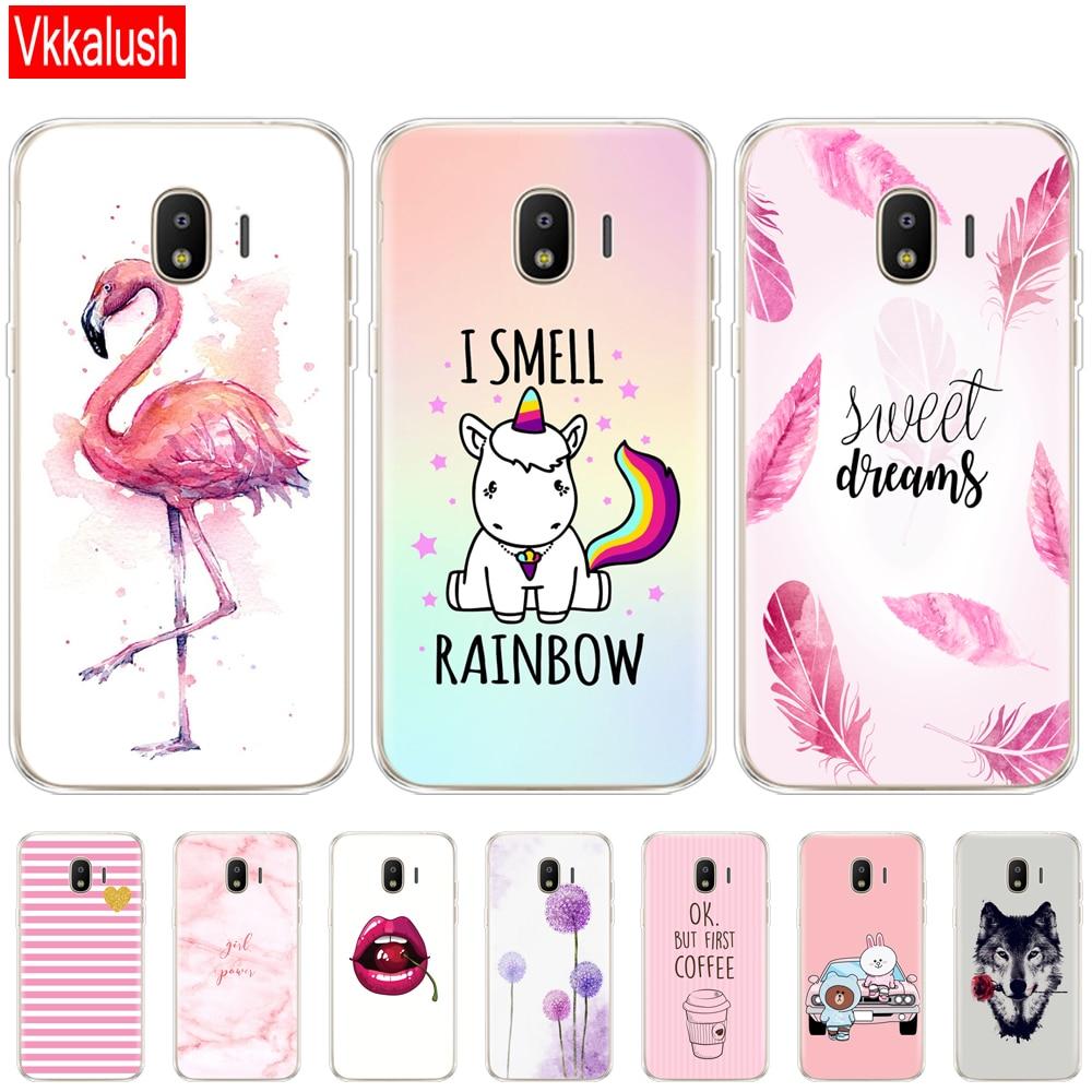 Soft Case For Samsung J2 Core Case Silicon Back Cover Phone Case For Samsung Galaxy J2 Core 2018 J 2 SM-J260F J260F J260 Anime