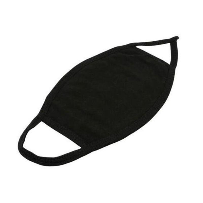 Fashion Reusable Masks For Man Woman Batch Mouth Mask Black Cotton Dust Proof And Nose Protection Blend Face Mouth Mask