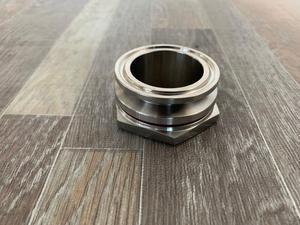"""Image 3 - Anteparo encaixe de compressão 1.5 tc e 2 """"tc homebrew weldless bulkehad 304 aço inoxidável chaleira homebrew anteparo"""