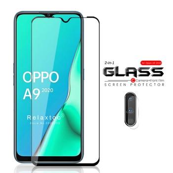 Перейти на Алиэкспресс и купить 2-в-1 orro a9 2020 Защитная стеклянная камера для oppo a9 2020 Защитная пленка для стекла oppoa9 opo a 9 2020 a92020 6,5 ''защитная пленка steklo