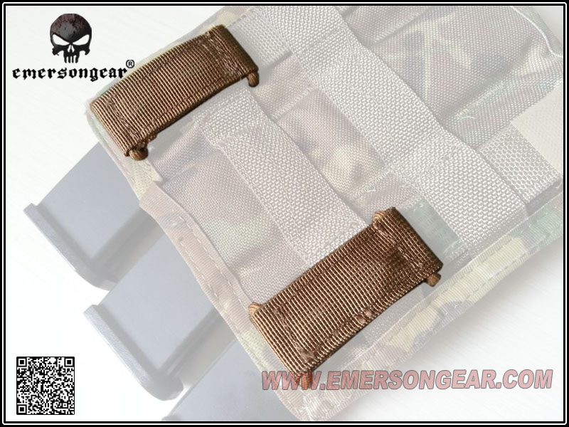 emersongear Emerson Molle Attach Webbing Quickdraw backpack Hanger Loop Camp Hike Clip Hang Buck Tactical Vest