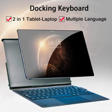 Face ID 4G LTE 2 in 1 Tablet PC 10.5 Inch Tablet Laptop 1920 1200 Android Tablet With Keyboard Dual SIM Card with Google Store