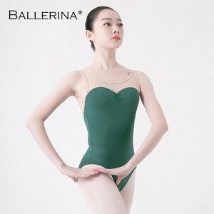Image 5 - Adult tights dancewear ballet leotard women  open back dance leotardsgymnastics ballet costume Ballerina 5675