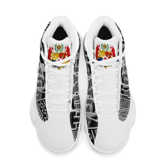 Venta caliente Tonga Polinesia Samoa Tribal estilo zapatillas de correr para niño personalizado bola Logo de equipo deportivo de Baloncesto de los hombres zapatos deportivos 3