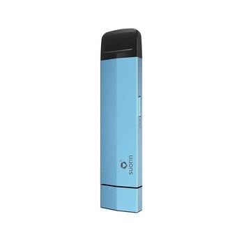 Suorin – Kit de Cigarette électronique Edge Pod Vape, batterie 230mAh, avec cartouche de 1.5ml, conception de batterie amovible