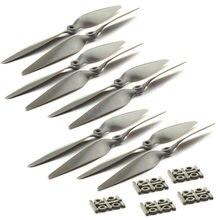 10 pcs/lot MR 9045 1045 1145 1245 accessoires d'hélice quatre axes Multi axes RC avion CW/CCW hélices (5 paire)