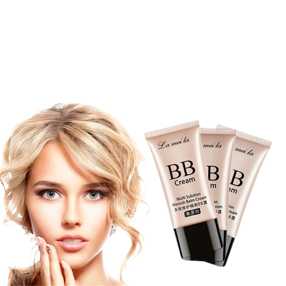 Oily Skin Care CC Cream Fade Spots And Freckles Light Long Lasting Oil Control Foundation Fresh Cool Moisturizing BB Cream 50g image