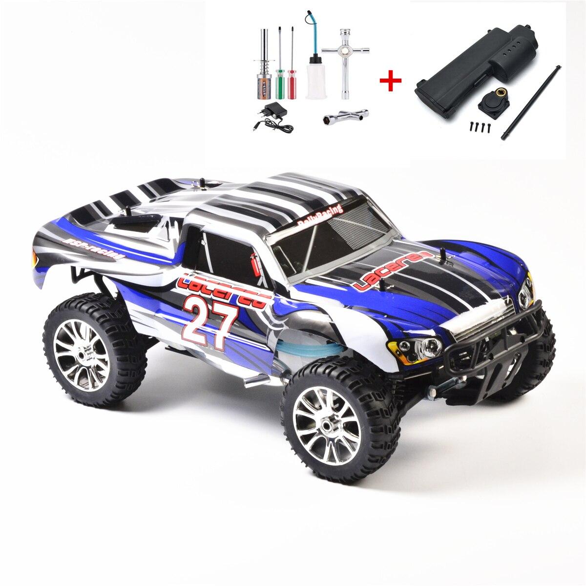 HSP RC voiture jouets 1/8 4WD hors route télécommande NITRO essence court COURSE 21CXP moteur similaire HIMOTO REDCAT (article NO. 94763)