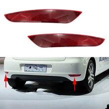 цена на Rear Tail Bumper Corner Reflector Decorative False Light Lamp For VW Golf 6 MK6 2009 2010 2011 2012 2013 5K0945105A 5K0945106A