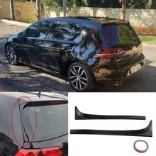 2 шт./компл., наклейка на заднее окно, боковой спойлер, крыло, бампер, крышка, наклейка, подходит для VW Golf 7 MK7 MK7.5 R GTE GTD, автомобильные аксессуары