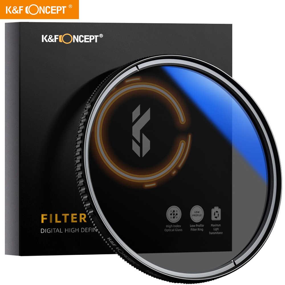 K/&F Concept 82MM UV Filter Ultra Slim Japan Optics Multi Coated Ultraviolet Protection Lens Filter