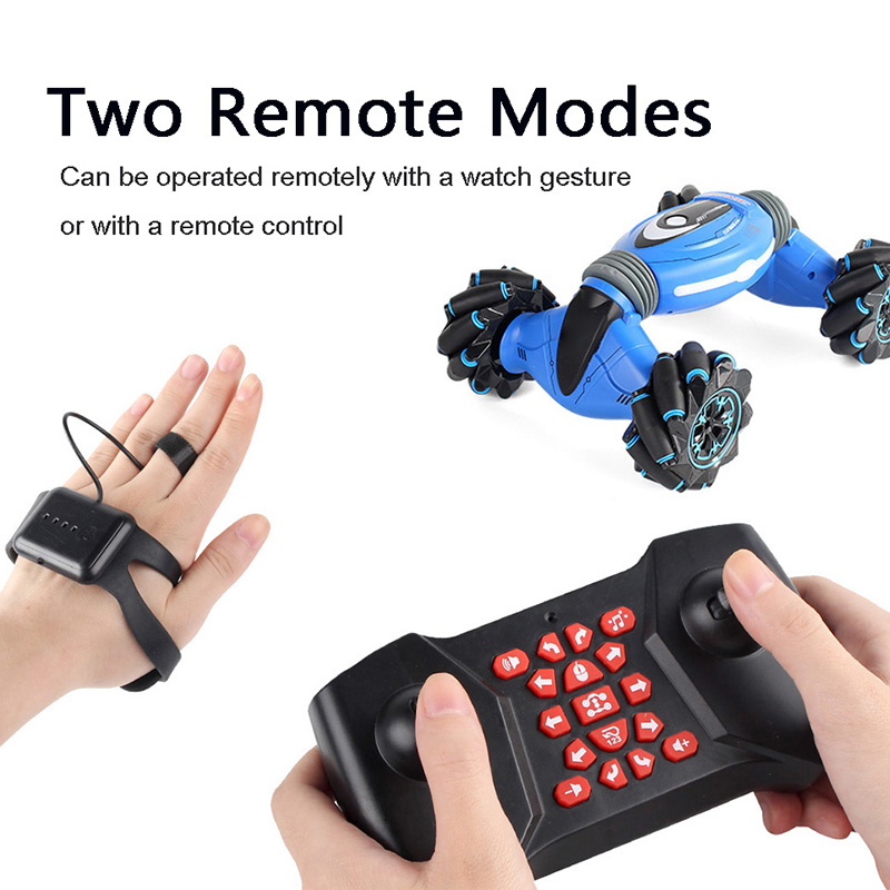 Управление жестами двусторонний трюк автомобиль жесты зондирования скручивание RC деформации автомобиль дрейф игрушка Подарки - 3