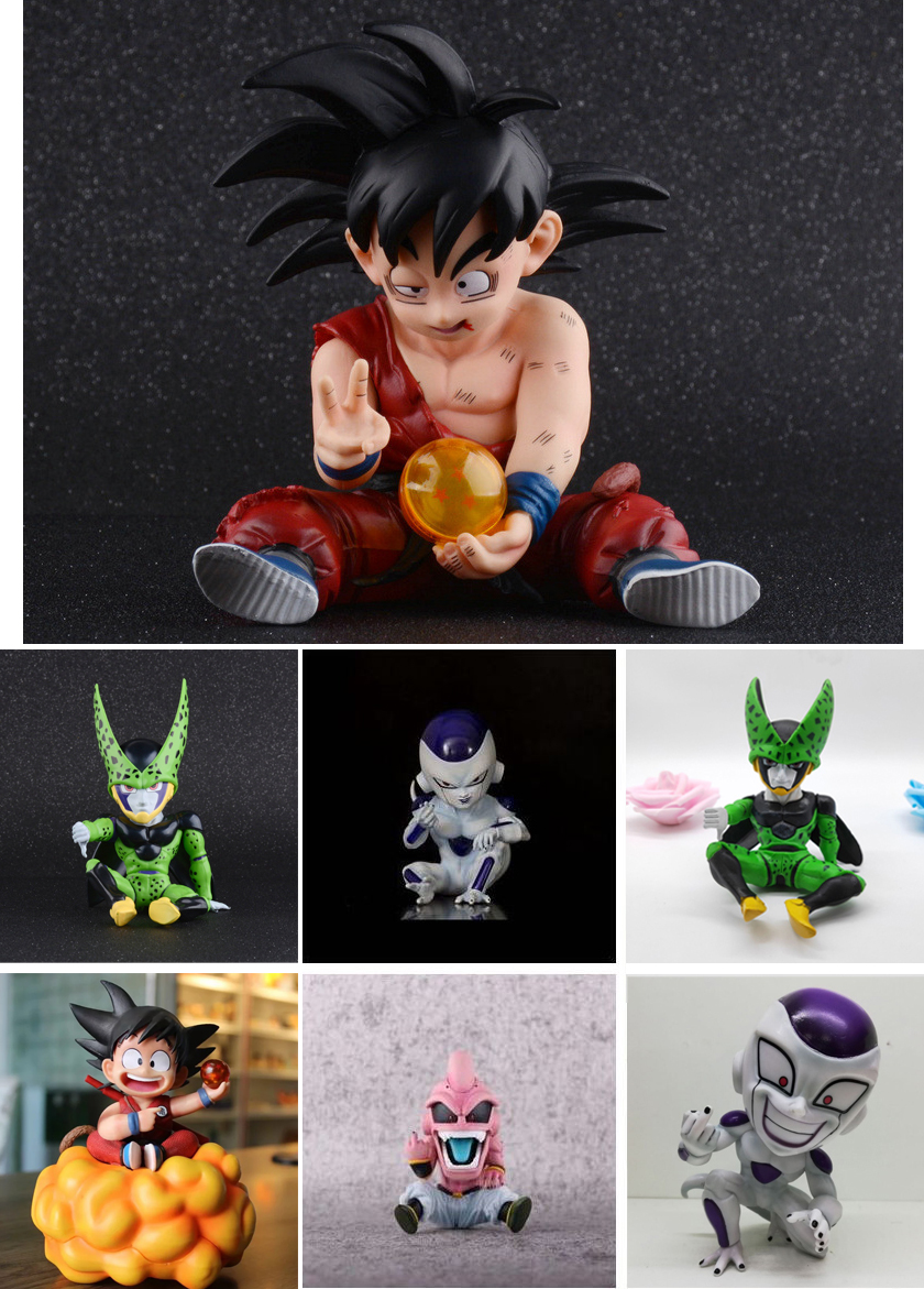 Dragon Ball Z Majin Buu Majin Boo Goku Figure Anime Action Figure PVC New Collection Figures Toys