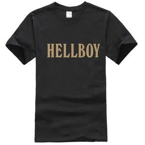Футболка графическая Hellboy, для мужчин и женщин, все размеры