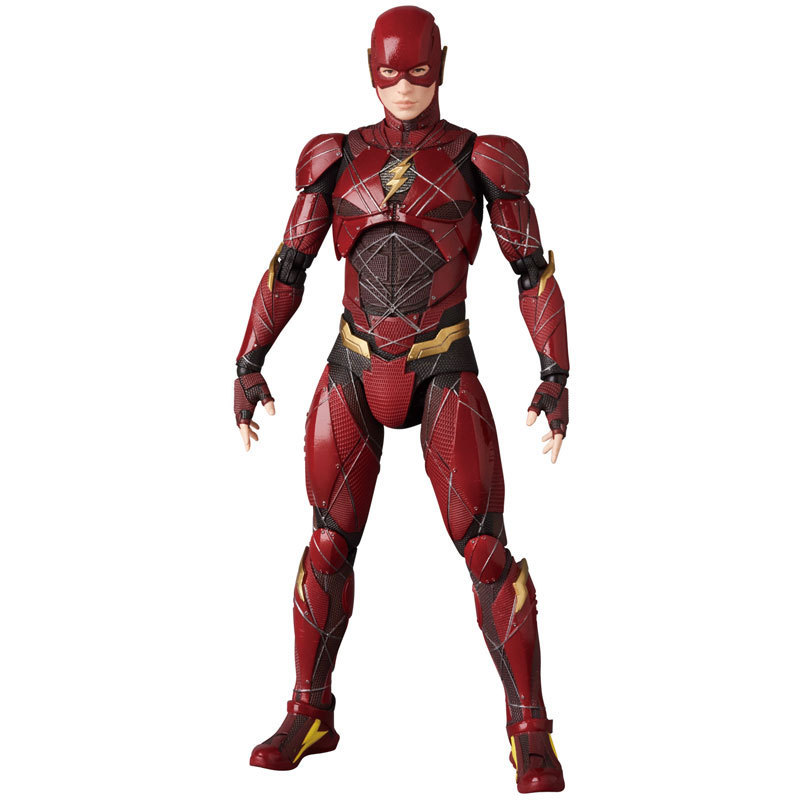 Superhero Barry Allen Justice League The Flash Model Action Figure Kids Doll US