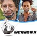 Новинка 2021, прозрачный экран и респиратор, противотуманная Пылезащитная маска для лица с защитой для глаз, Альтернативная маска, маска