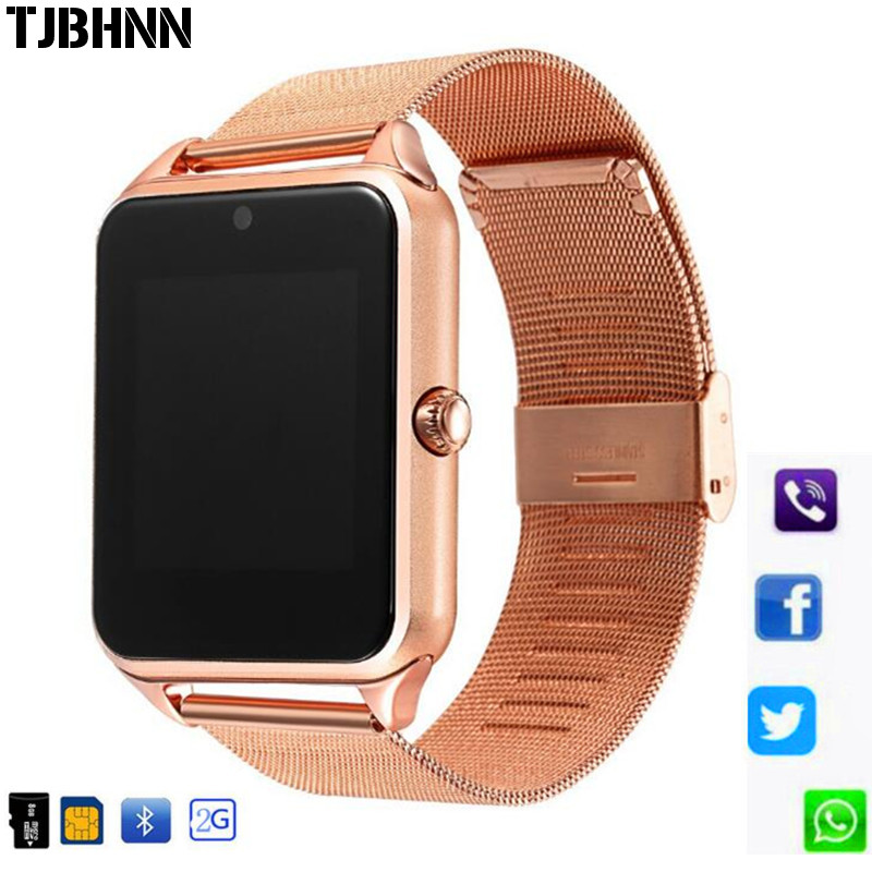 Z60 Smart Watch Plus Metal Clock With Sim Card Slot Push Message Bluetooth Connectivity Android IOS Phone Smartwatch PK S8