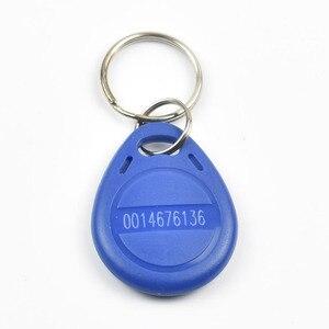Image 2 - 100 шт./пакет RFID брелоков 125 кГц ABS ключевые теги/для контроля доступа с TK4100/EM 4100 чип