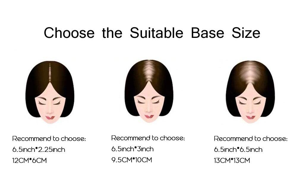 densidade da pele grampos em peruca para menos cabelo feminino