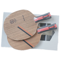 SUNFLEX STRIKER CFW Table Tennis Blade 5 Ply wood 2 Ply Carbon Fiber Ping Pong Blade for Table Tennis Racket